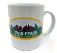 TWIN PEAKS: Original Sheriff's Department Ceramic Coffee Mug (1990) NEAR MINT