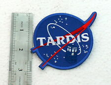 patch Embroidered Doctor Who Tardis Police Box iron on patch 2.75 in NASA SPACE