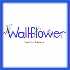 Sizzlits Wallflower alphabet 9-die #655322 Retail $44.99 Limited Quantity!
