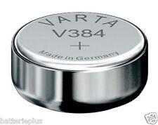 10 Piezas Varta 384 Batería de reloj 1,55V SR41SW / V384