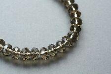 30 New Swarovski Crystal Czech Glass Bead Rondelle 10mm