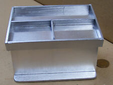 1:12 Silver Meat - Fish Display Counter Dolls House Miniature Shop Accessory B