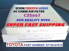 For Scion Toyota Ac Cabin Air Filter Avalon Camry Tundra Sienna Prius Fast ship! (Fits: Toyota Tundra)