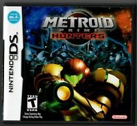 METROID PRIME: HUNTERS (NINTENDO DS, 2006) CIB COMPLETE WITH CASE BOOKLET