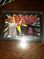 2017 Topps Finest Mike Trout #FB-MT Break Through Los ANGELES Angels BASEBALL