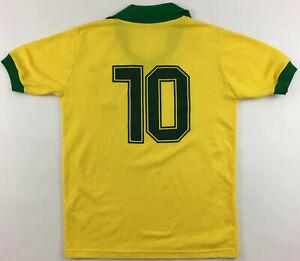 Brazil #10 Zico 1980s replica Topper shirt jersey soccer camiseta Brasil vintage