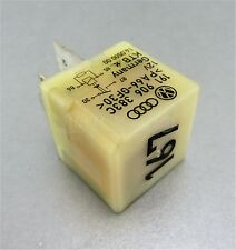 114-Audi VW Ford 4-Pin Cream (No:167) Fuel Pump Relay 191906383C KTB 14050000
