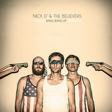 Nick D & The Believers Throwing Stones & Bang Bang EP's. GOLD VINYL