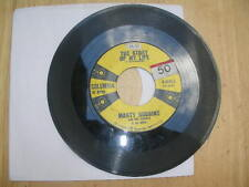 """Country 45 Marty Robbins """"Story Of My Life/ Once A Week"""" Columbia VG"""