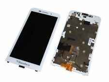 OEM BLACKBERRY Z30 4G LTE WHITE FULL LCD DISPLAY TOUCH SCREEN DISPLAY WITH FRAME