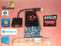 DELL OPTIPLEX 745 755 760 780 790 Tower 1GB 128-Bit Video Card + HDMI Adapter