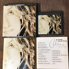 CELINE DION All The Way A Decade Of Song JAPAN MD-Mini Disc ESYA1133 w/BOOKLET
