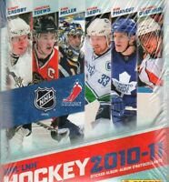 PANINI NHL COLLECTION 2010 2011 EMPTY ALBUM COMPLETE STICKERS SET  RARE
