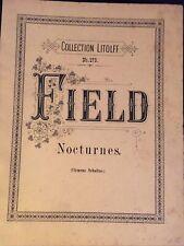 FIELD Nocturnes Litolff N 179
