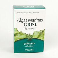 Grisi Seaweed Soap Jabon de Algas Marinas Jabon Exfoliante Exfoliating Bar Soap