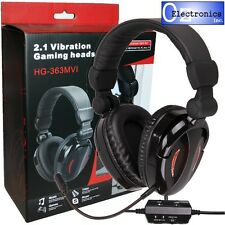 Gaming Headset Universal - PS4, PS3, PC & MAC - Headphones & Mic EXTRA BASS