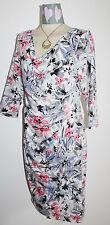 PER UNA Drape Neck Dress SIZE 14 BNWT ~ The High Street Collection