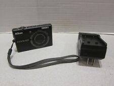 Nikon CoolPix S570 12.0 MP 5x optical zoom Black Camera + 1GB