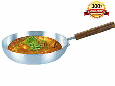 Wooden Handle Aluminium Frying Pan Chefs Pan Professional use 11inch - 28cm NEW