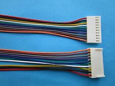 60 pcs 2510 Pitch 2.54mm 10 Pin Female Connector with 26AWG 300mm Leads Cable