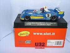 Slot.it Sica27b Matra Ms670b-74 Le Mans 1974 #9