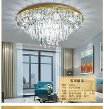 Gold light luxury bedroom lamp Dimming LED Crystal living room Chandelier light
