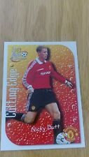 Manchester United Futera 1999 Fans Selection Cutting Edge Embossed Card CE8