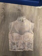 Victorias Secret High Neck Corset Bustier Bra