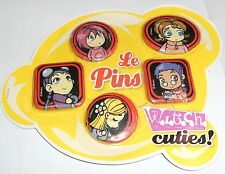 WITCH CUTIES -  5 PINS - DITRIBUZIONE WALT DISNEY