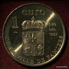 PAMIERS EURO  TEMPORAIRE  VILLES JETON MEDAILLE MUNZE COIN   1082A240