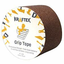 New listing Grip Tape 4� x 30ft Brown Anti Slip Tape for Stair Runners for Wooden Steps