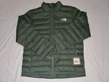 Mens NWT The North Face Flare 550-Down Full Zip Puffer Jacket  Green/Thyme Large