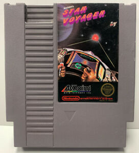 Star Voyager for Nintendo NES Cartridge Only Authentic Clean & Tested By Acclaim