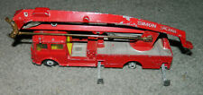 VINTAGE Corgi Toys No 1127 Simon Snorkel Fire Engine PARTS or Restoration