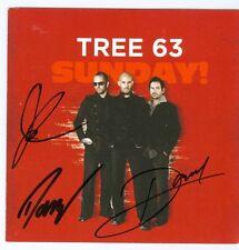 Tree 63 Sunday autographed signed CD John Ellis Daniel Ornellas Darryl Swart