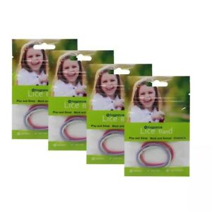Lice, Fly, Midge Insect repellent hairbands 100% natural ingredients BRAND NEW