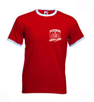 Bristol City FC The Robins Retro Football Club T-shirt. Ashton Gate