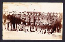 Photo Postcard RP RPPC caption reading ... Old School RFR at the RMA Oct 9 1907