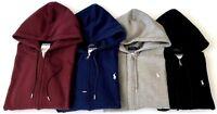 New Polo Ralph Lauren Women's Full Zip Fleece Sweatshirt Hoodie Jacket