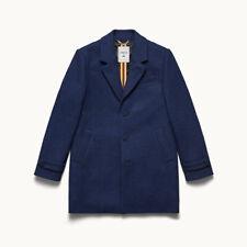 Men's H&M X Erdem Navy Wool Tweed Coat size 40R