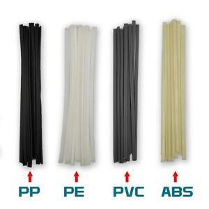 50PCS / Set Baguettes de Soudage ABS / Pp / PVC / Pe Soudure Bâtons Plastique