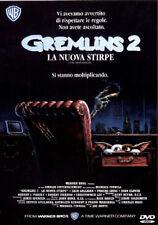 GREMLINS 2 LA NUOVA STIRPE - DVD NUOVO E SIGILLATO, PRIMA STAMPA, UNICO RARO!