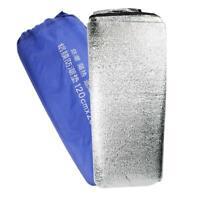 1.2x2m Outdoor Waterproof Aluminum Foil EVA Mats Picnic Camping Sleeping Pads