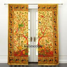 Tree of Life Door Window Curtain Hanging Tapestry Boho Hippie Valances