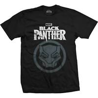 Black Panther T-Shirt - New and Official Marvel Merchandise! *Wakanda Forever*