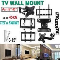 Universal TV Wall Mount Bracket Fixed Flat LCD TV Frame Set 32 37 42 46 50 60