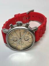 Fossil Quartz Chronograph C181002 With Extra Bands - WORKING
