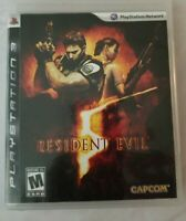 RESIDENT EVIL SONY PLAYSTATION 3 PS3 GAME COMPLETE W/ MANUAL