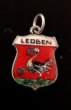 ❤ colgante Charm emblema ❤ ramo Loeben Steiermark Austria g49