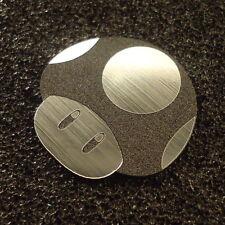 Mushroom Mario Toad Label / Logo / Sticker / Badge 30 x 30 mm [290c]